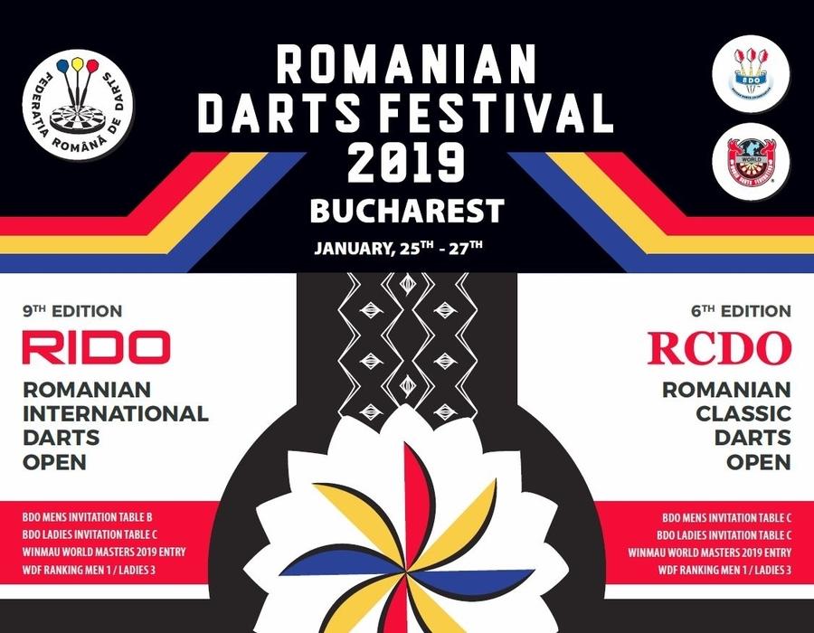 Romanian Darts Festival 2019 - Live on WinmauTV