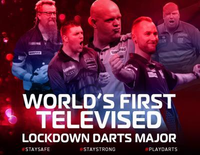 World's First Televised Lockdown Darts Major