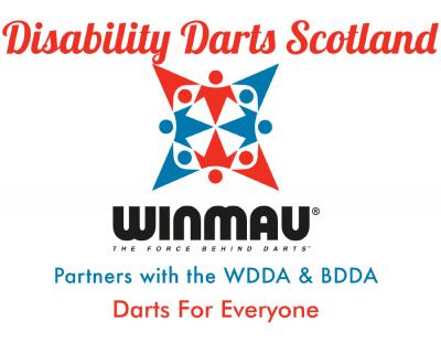 Winmau Announce Partnership with Disability Darts Scotland