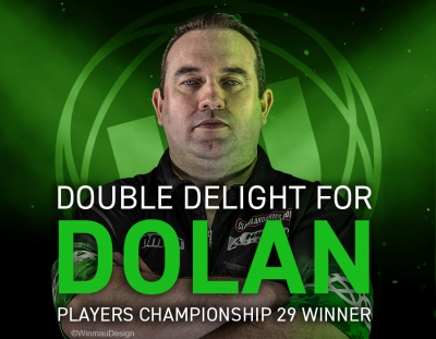 Double Delight for Dolan - Players Championship 29 Winner