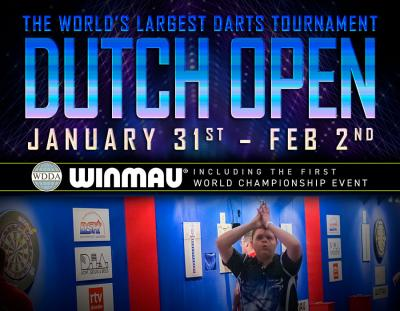 Bauhaus Dutch Open 2020 and Winmau WDDA World Championships – Live on Winmau TV
