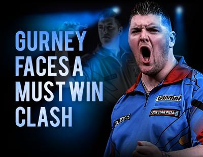 Daryl Gurney Faces a Must Win Clash