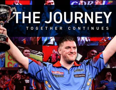 Daryl Gurney Continues his Journey with Winmau