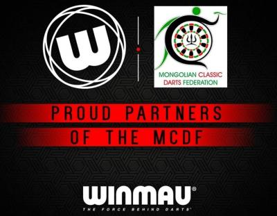 Winmau Announce Continued Partnership with Mongolian Classic Darts Federation