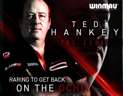 Hankey raring to get back on the oche