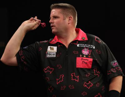 Scotty Dog Drawn with Fellow Lakeside World Champion in Grand Slam