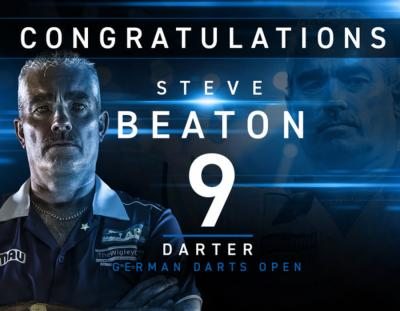 Steve Beaton Hits 9-dart Finish at German Darts Open
