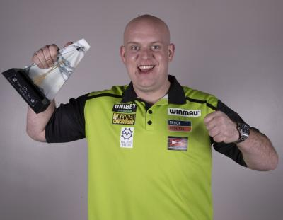 Van Gerwen named 2019 Player of the Year
