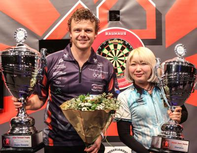 Veenstra and Suzuki Newly Crowned Dutch Open Champions