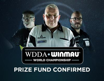 WDDA Winmau World Championship Prize Fund Confirmed