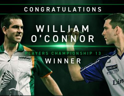 William O'Connor Claims First PDC Ranking Title