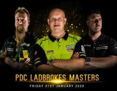 2020 Ladbrokes Darts Masters Preview