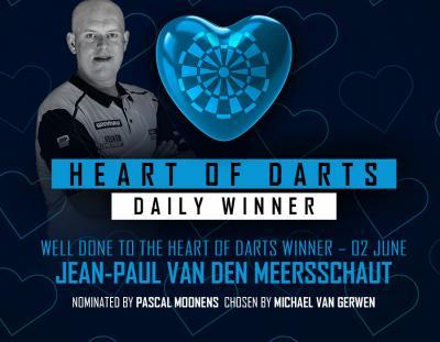 Heart of Darts Winner - 2nd June 2020