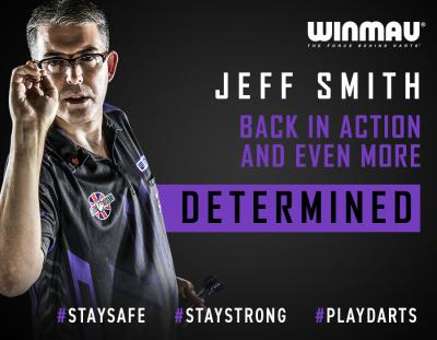 Jeff Smith Back in Action Even More Determined