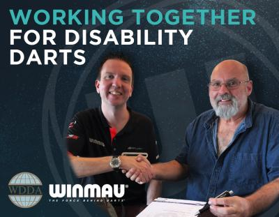Winmau Extends Sponsorship of World Disability Darts Association to 2025