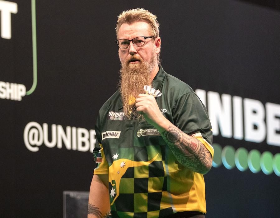 Whitlock and Gurney Progress into Round 2 - European Championship Night One