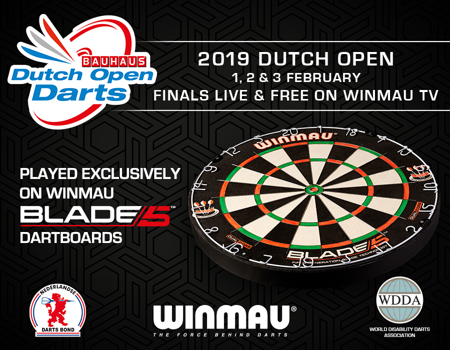 2019 Dutch Open Finals - Live and Free on WinmauTV